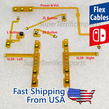 NEW Flex cables: L, ZL, ZR, SLSR Sync Player LEDs For Nintendo Switch buttons