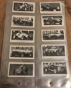 1954 Kane Motor Racing Cars complete set