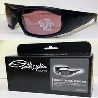 Smith Optics Elite - Hideout Tactical Sunglasses - Black / Ignitor Lense