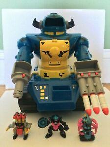 Vintage 1992 Galoob Z Bots Megabot Near Complete (Bonus Z Bots Inlcuded)