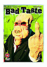 The Bad Taste DVD Peter Jackson First Feature Film Original RARE UK RELEASE New