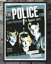 The Police poster print. Celebrating famous venues and gigs. Specially created.