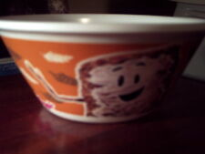 Kellogg's 2015 NEW Cereal Bowl Mr.Mini Wheats GLOW IN THE DARK dishwasher safe