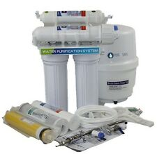 Deluxe RO System Reverse Osmosis Water Filter +Filters+tank+Faucet+ Fittings