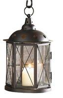 Modern Lampe für den Hof Metall-Laterne Antikdesign Kerze Laternen NEU
