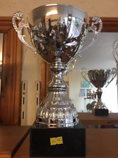 Large Silver Trophy - Free Engraving 34cm
