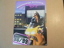 MVR MOTOR VERHUUR ROTTERDAM HUURPROGRAMMA 98/99 YAMAHA PEEWEE MINIBIKE,FAZER