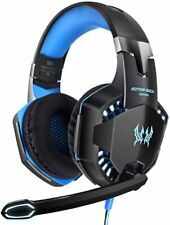 G2000 3.5mm Gaming Headset MIC Headphones for PC Laptop Android iPhone Tablet