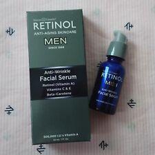 Skincare Cosmetics RETINOL MEN Anti-wrinkle Facial Serum 1oz/30ml BRAND NEW
