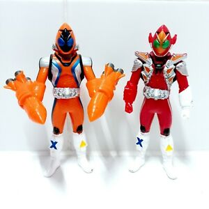 Kamen Rider Fourze Action Figures Rider Hero Series Rocket & Fire BANDAI 2011