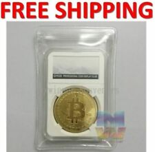 New Rare Collectible In Stock Golden Iron Bitcoin Commemorative Coin Gifts Gold