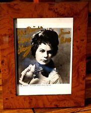 Beautiful Framed Signed Photo Of Opera Star Morag Beaton