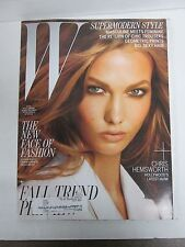 W Magazine Fall Trend Preview July 2012 Karlie Kloss Chris Hemsworth 073014ame3