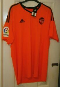 Valencia Adidas Orange Third Shirt 2016/2017 Season.  Size XL.  BNWT