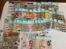 58 Packages Of Jolee's Scrapbooking Stickers & More! All Different!
