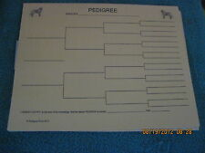 Otterhound Blank Pedigree Sheets Pack 10
