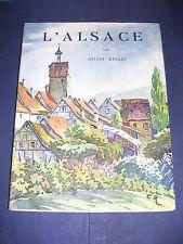 Alsace album illustré d'héliogravures tirage de tête numéroté Arthaud 1941