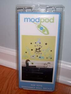 MODPOD POP TOYS REMOVABLE WALL DECALS STICKERS KIDSLINE