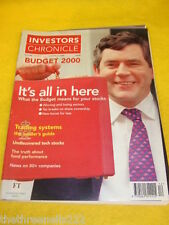 INVESTORS CHRONICLE - TRADING SYSTEMS - MARCH 24 2000