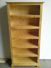 OLD MILL FURNITURE ARIZONA 180 CM BOOKCASE SOLID ANTIQUE PINE NO FLAT PACKS