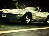 1969-1973 Corvette Stingray Front Fender Side Emblem 25-106946-1