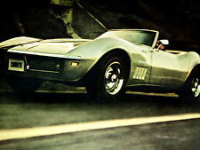 1969 CORVETTE / ORIGINAL AD *350/396/v8 engine/door/hood/interior/steering wheel