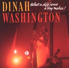 What a Diff'rence a Day Makes by Dinah Washington (CD, Mar-2003, Mercury)