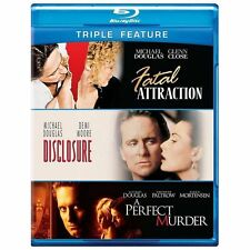 Fatal Attraction/Disclosure/A Perfect Murder (Blu-ray Disc, 2013, 3-Disc Set)