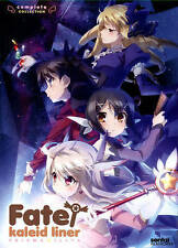 Fate/Kaleid Liner Prisma Illya: Complete Collection (DVD, 2014, 2-Disc Set) NEW