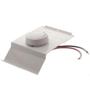 Cadet BTF1W Single Pole Electric Baseboard Heater Thermostat (White)