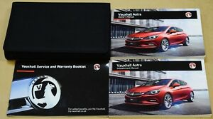 VAUXHALL ASTRA K OWNERS MANUAL HANDBOOK SERVICE BOOK INFOTAINMENT 2015-2020 PACK