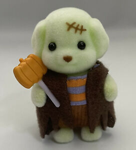 Sylvanian Families / Calico Critters Frankenstein Toy Poodle Halloween Baby