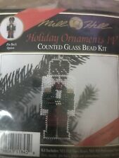 Mill Hill Beaded Cross Stitch Kit Holiday Ornaments IV Nutcracker H45
