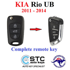 Kia RIO Complete All in 1 Remote Transponder Flip key FOB 2011 2012 2013 2014
