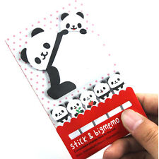 BEST ANIMAL PANDA CUTE KAWAII MEMO STICKY NOTE PLANNER STICKER PAPER BOOKMAR