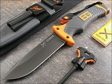G1063 Gerber Bear Grylls Ultimate 7Cr17MoV Blade Orange ABS Handle Nylon Sheath