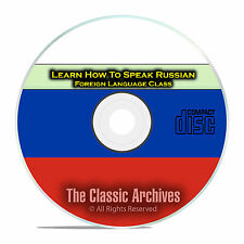 Learn How To Speak Russian, Fast & Easy Foreign Language Training Course, CD E13
