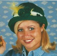 Crochet Pattern ~ LUCKY IRISH HAT St Patricks ~ Instructions