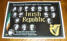 1916 Easter Rising 100 Year Anniversary Commmemorative Poster New A3 Size