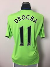 DROGBA #11 Chelsea Third Football Shirt Jersey 2010/11 (M)