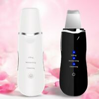 Ultrasonic Ultrasound Facial Skin Care Scrubber Face Salon Beauty machine US