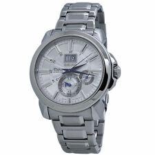 Seiko Premier Kinetic Silver Dial Stainless Steel Men's Watch SNP159