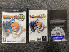 Worms 3D - Nintendo Gamecube Complete UK PAL
