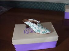 1999 -Just The Right Shoe Club Figurine-Touch Of Lace-New