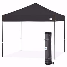 E-Z UP Pyramid 10 x 10ft Canopy Instant Shelter Easy Up - Black