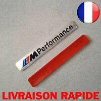 M Performance Auto Logo Capot Autocollant Emblème BMW M SÉRIE M3 M4 M6 Argent