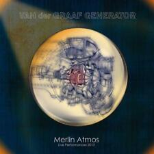 VAN DER GRAAF GENERATOR – MERLIN ATMOS : LIVE PERFORMANCE 2013 (NEW/SEALED) CD