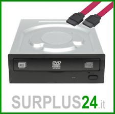 """Masterizzatore DVD Interno 5.25"""" SATA colore Nero Pc Desktop varie marche"""