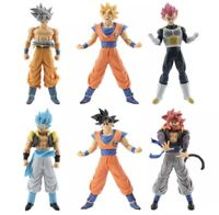 6 pcs Dragon Ball Z Figures Set Goku Vegeta Super Saiyan Blue God Ultra Instinct