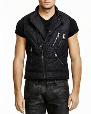 $695 RALPH LAUREN BLACK LABEL Waterproof Quilted Nylon Vest Gilet Size Small